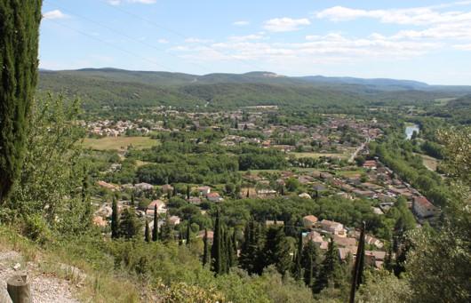 Vue panoramique Saint Bauzille de Putois